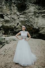 Šaty - svadobné šaty Holubička - 10809078_