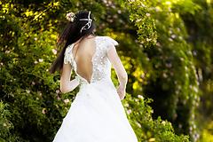Šaty - svadobné šaty Holubička - 10809123_