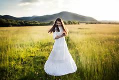 Šaty - svadobné šaty Holubička - 10809178_