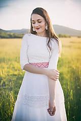 Šaty - svadobné šaty Holubička - 10809183_