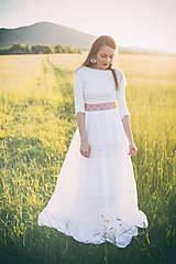 Šaty - svadobné šaty Holubička - 10809184_