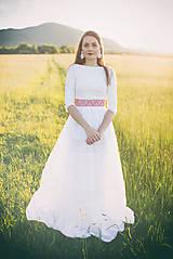 Šaty - svadobné šaty Holubička - 10809185_