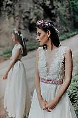 Šaty - svadobné šaty Holubička - 10809393_