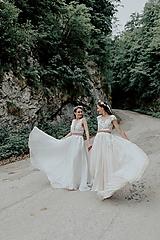 Šaty - svadobné šaty Holubička - 10809421_