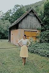 Šaty - spoločenské šaty Holubička - 10809433_