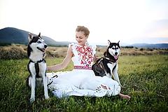 Šaty - svadobné šaty Holubička - 10809461_