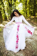 Šaty - svadobné šaty Holubička - 10809489_