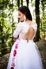 Šaty - svadobné šaty Holubička - 10809490_
