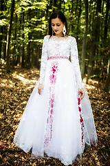Šaty - svadobné šaty Holubička - 10809492_