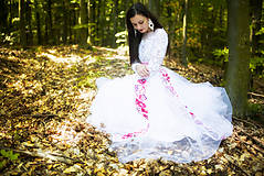 Šaty - svadobné šaty Holubička - 10809495_