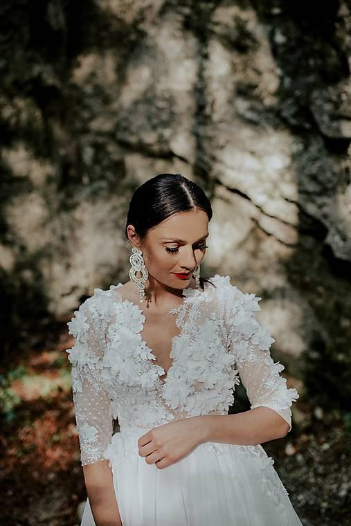 Šaty - svadobné šaty Holubička - 10809020_