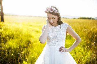 Šaty - svadobné šaty Holubička - 10809379_