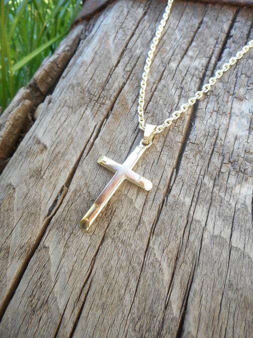 Krížik dvojfarebný