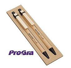 Drobnosti - Recy - sada pero + pentelka s gravírovaním - 10810139_