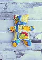 Hračky - Ručne šitý macko (Macko) - 10809353_