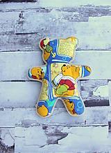 Hračky - Ručne šitý macko (Macko) - 10809357_