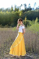 Sukne - zavinovacia sukňa Sunny - 10809464_