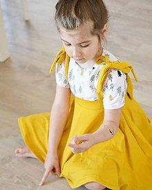 Detské oblečenie - Rastúca sukňa Ella - 10809645_
