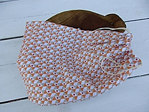 Úžitkový textil - obyčajské oranžové vrecko - 10810297_