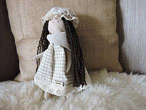 Bábiky - Amálka v klobúčiku-patrónka zdravia - 10810458_