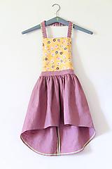 """Detské oblečenie - sukňa """" Ľanová na Traky"""" - 10809534_"""