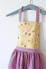 """Detské oblečenie - sukňa """" Ľanová na Traky"""" - 10809535_"""