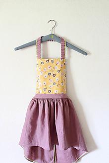 """Detské oblečenie - sukňa """" Ľanová na Traky"""" - 10810700_"""