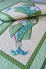 Úžitkový textil - Štóla - ryba No.1 - 10810101_