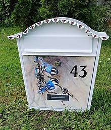 Nádoby - Poštová schránka vtaciky - 10810651_