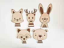 Magnetky - Magnetky - lesné zvieratká - 10812933_