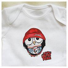 Detské oblečenie - Detské bavlnené body - OčiPuči Metal Baby Coobo - 10812402_