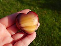 Minerály - jaspis-heart - 10810824_