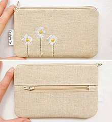 Peňaženky - Peňaženka - Vyšívaná - 10811411_