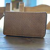 Peňaženky - Kožená peňaženka - Una - 10811865_