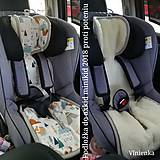 Textil - RUNO SHOP Vložka proti poteniu do autosedačky 0-18 kg a 9/18 kg 100% Ovčie runo proti poteniu, pocení, prehriatiu TEDDY - 10812843_