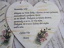 Dekorácie - Srdiečko - 10813256_