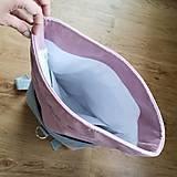 Batohy - Batoh Alex (šedo-ružový) - 10811733_