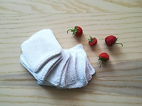 Úžitkový textil - Látkové kozmetické tampóny - profi - 10812984_