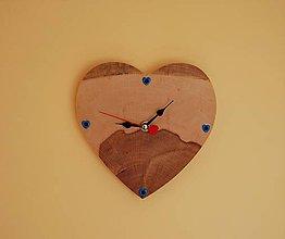 Hodiny - Nástenné hodiny - Lásky čas - 10812787_