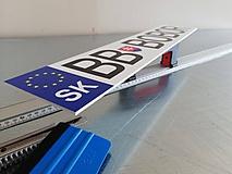 Tabuľky - ŠPZ na auto s vlastným motívom - 10812387_