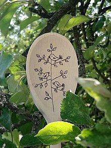 Pomôcky - Vareška vtáčiky na strome - 10810962_