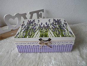 Krabičky - Krabička na čaj - 10811579_