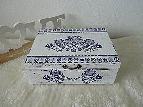 Krabičky - Krabička na čaj - 10811970_
