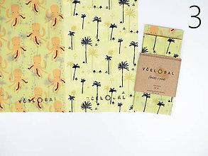 Úžitkový textil - Duo Bagetka 35 x 35 cm (Chobotničky + Miami) - 10812516_
