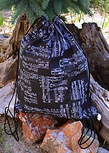 Batohy - Vak / batoh / ruksak - noty - 10811426_