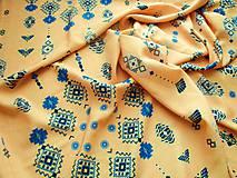 Textil - Šatovka šíře 140 x 110 cm - 10810863_