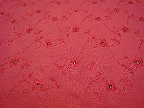 Textil - Úplet s výšivkou šíře 140 x 100 cm - 10810868_