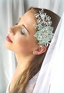 Ozdoby do vlasov - Šperk do účesu Nora - 10812881_