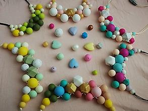 Náhrdelníky - Dojčenský náhrdelník (kojonáhrdelník) - 10811946_
