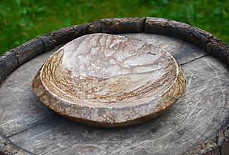 Nádoby - miska z kameňa - 10811289_